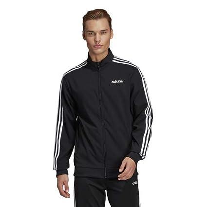 608088e1179c Amazon.com  adidas Men s Essentials 3-Stripes Woven Track Jacket ...