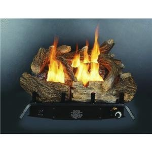 Kozy World GLD1850 Fireplace Log Set, Vent-Free, Dual Fuel, 18 inch Vent Free Fireplace Parts