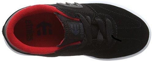 EtniesKIDS LO-CUT - Zapatillas de Skateboard Niños-Niñas Black (Black001)