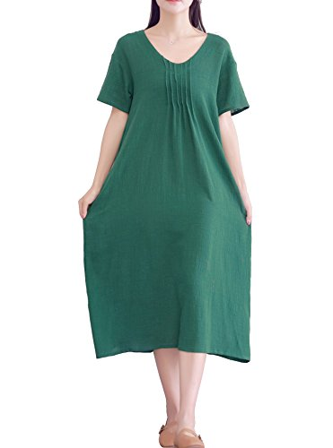 待つ歯科医海外LifeShow DRESS レディース US サイズ: M カラー: グリーン