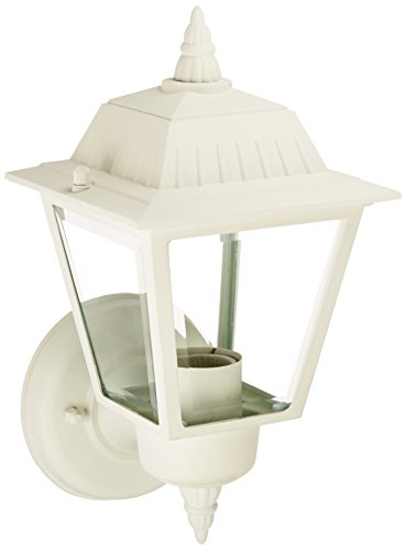 Acclaim 5005TW Builder's Choice Collection 1-Light Wall Mount Outdoor Light Fixture, Textured White
