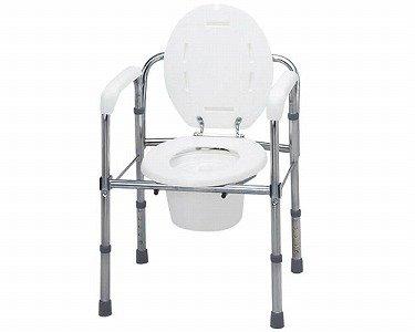 ポータブルトイレ トイレチェア 折りたたみタイプ/T-8303 B001GZIARS