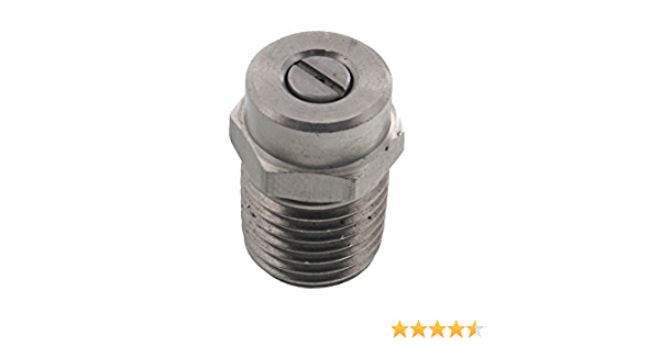 Spraying Systems Pressure Washer Nozzle 25 Degree, Size #10 Threaded 2510