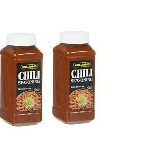 Williams Chili Seasoning Mix 18 oz 2 pack by Wiiliams