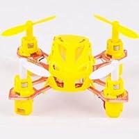 Microgear EC10395-Yellow 2.4 Ghz RC4 Channel MX-272 Mini Quadcopter UFO RTF