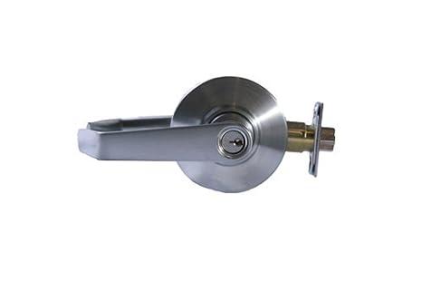 Schlage AL50PD SAT 626 Al Series Entrnc/Offc Lock Sat 626, Satin Chrome Plated
