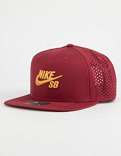 Nike SB Performance Trucker Dri-Fit Hat 629243 - Team Red/University Gold ()