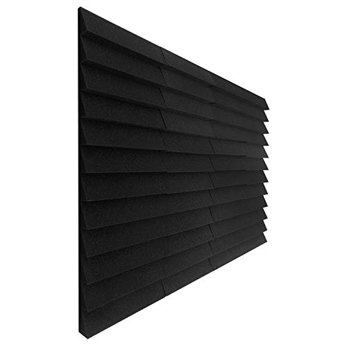 6 Pack - Delta Siding Decorative Acoustic Panels Studio Soundproofing Foam 2