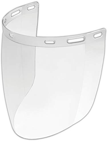 Gateway 675 Safety Venom Faceshield, Standard, Clear (Pack of 10) by Gateway