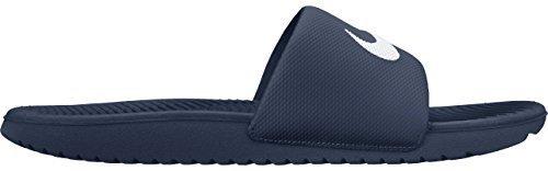Nike Men's Kawa Slide Athletic Sandal, Midnight Navy/White, 6 D US