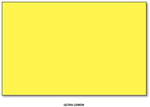Price comparison product image Mohawk BriteHue Bright Color Paper,  24 / 60lb paper. Text 100 Sheets Per Pack (11 x 17,  Ultra Lemon)