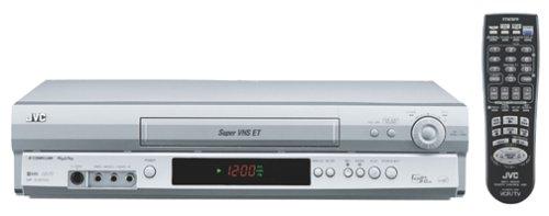 JVC HRS3912U VCR, Silver