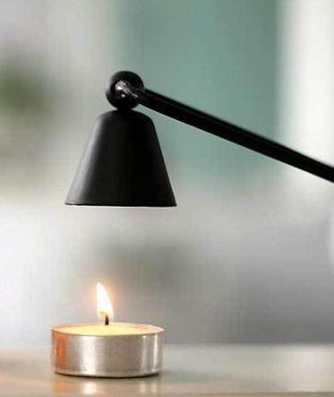 Ryocas Candle Snuffer, Matte Black