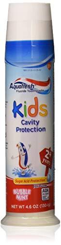 Aquafresh Kids Cavity Protection Toothpaste, Bubblemint, 4.6 oz - ()