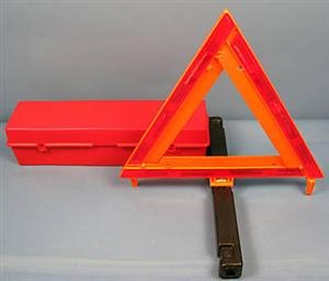 Triangle Safety Kit Roadside Highway Emergency Warning Sign