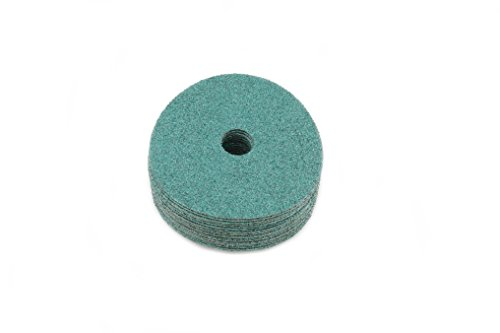Sungold Abrasives 17502 Excella 36 Grit Green Ceramic Fiber Discs 20/Box 5