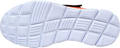 Con Negro Hombres Transpirable Seguridad Punta Zapatillas Ultra Reflectivo Trabajo Lm Acero Naranja 30 De Zapatos Liviano nB6O00