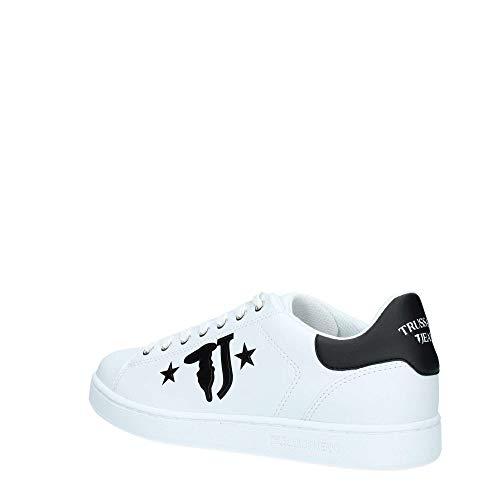 Jeans White Uomo Sneakers Sneaker Trussardi qYfZO0Z