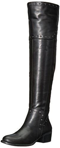 Vince Camuto Women's BESTAN Over The Knee Boot, Black, 8 Medium US by Vince Camuto