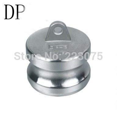 Maslin SS304 Stainless Steel CAM Lock CAMLOCK Type DP Dust Plug 2-1/2''