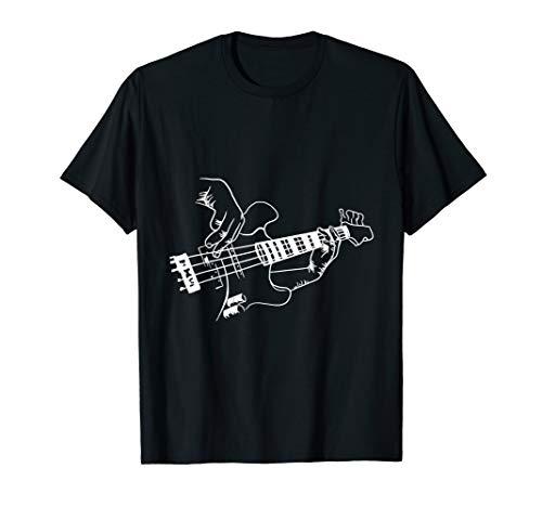 Bass Guitar Player Music Guitarist Musician Rock T-Shirt