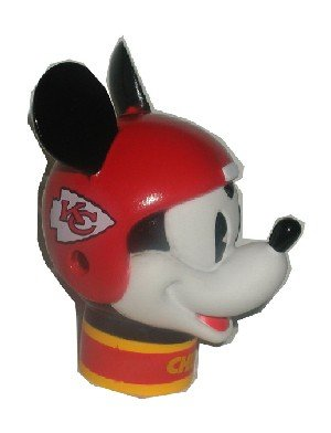 2 Kansas City Chiefs Mickey Mouse Antenna Toppers ** Wincraft