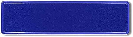 Niederlande Premium 1 St/ück Fun Kennzeichen 52cm x 11cm Wunschtext Individuell Wunschkennzeichen Wunschpr/ägung bis zu 19 Zeichen Namens Kennzeichen Namensschild Geburtstag VIELE Farben