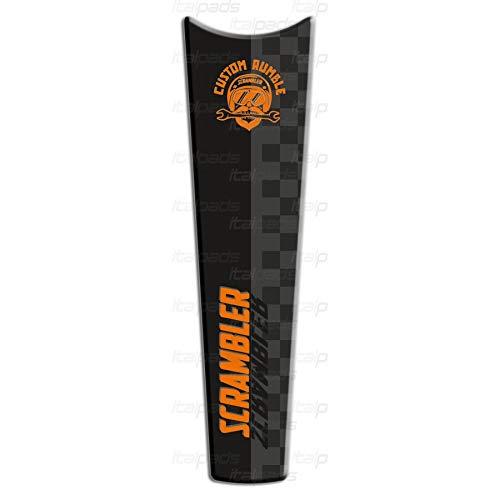 Protector De Dep/òsito naranja adecuado compatible para Ducati Scrambler