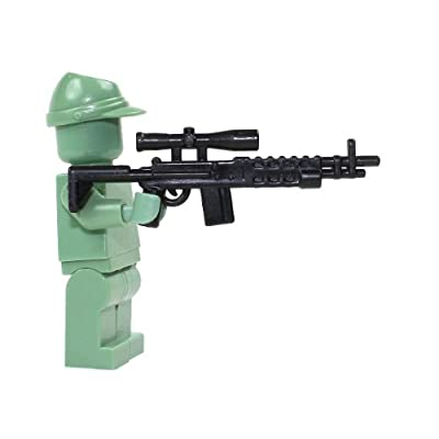 CombatBrick Brick Builder Toy Sniper Rifle - 2