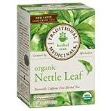 TRADITIONAL MEDICINALS HERB TEA,OG2,NETTLE LEAF, 16 BAG