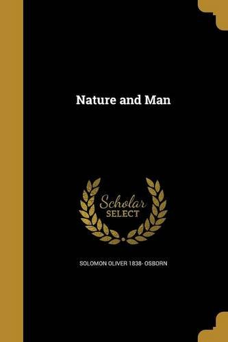Download Nature and Man pdf