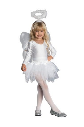 [Child's Angel Costume Kit, Toddler, 12 to 24 Months] (Angel Wings For Halloween Costumes)