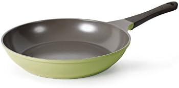 Neoflam Eela 10-Inch Frying Pan with Bakelite Handle and Ecolon Non-Stick Coating