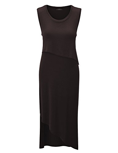 Double Layer Jersey Dress - 1