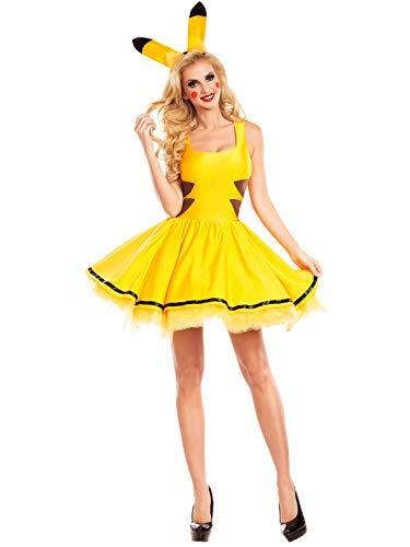 Party King Women's Catch Me Honey Costume, Yellow, Medium