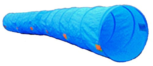 Dog Agility Training Tunnel with Carrying Case, 17-Feet by Cool Runners