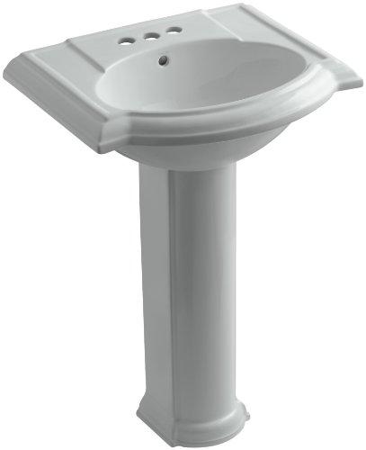 evonshire Pedestal Bathroom Sink with 4