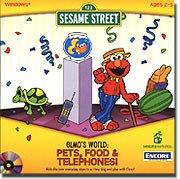 Elmo's World - Pets, Food & Telephones!