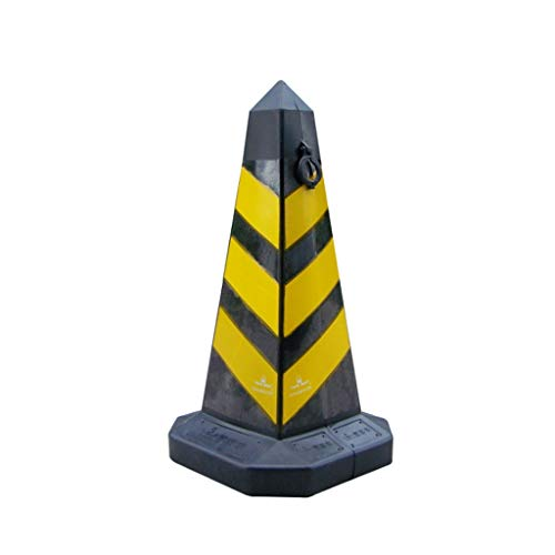 Industrial Safety Barriers Cones PE Plastic Safety Cone Reflective Traffic Facilities Roadblock Construction Road Cone Obelisk Rings Safety Cones (Size : 68cm)