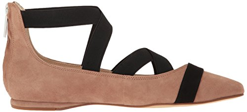 Nine West Womens Smoak Mocka Balett Platt Naturliga Multi