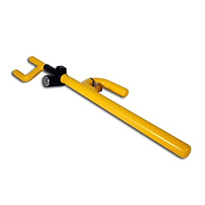The Club 900 Steering Wheel Lock, Yellow: Automotive