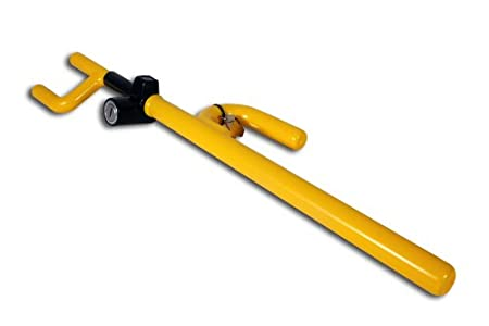 Winner Dr. Hook Steering Wheel Lock, Yellow The Club 900