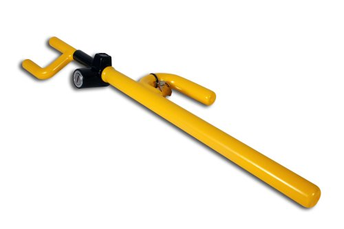 The Club 900 Steering Wheel Lock, Yellow Anti Theft Lock Car