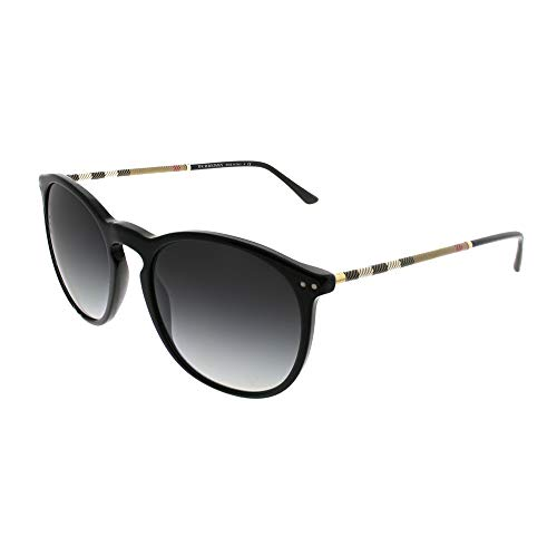 Burberry Unisex 0BE4250Q Black/Grey Gradient One ()