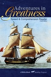 Read Online Adventures in Greatness Speed and Comprehension Reader ebook