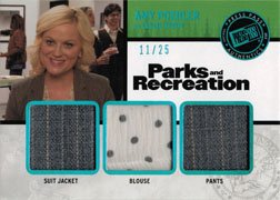 Parks and Recreation Costume Card RT-AP Amy Poehler as Leslie Knope #11 of 25