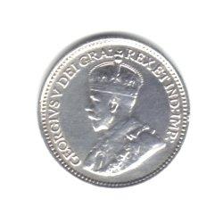 1929 Canada Newfoundland 5 Cents Coin KM#13 - 92.5% Silver (Rare World Coins)