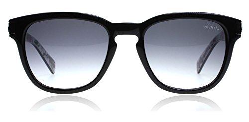 Lanvin Paris SLN625 0APA Black / Print SLN625 Oval Sunglasses Lens Category 3 - Mens Sunglasses Lanvin