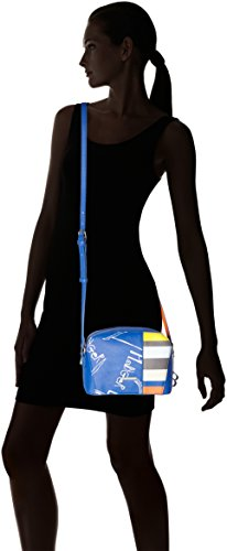 Bulaggi Damen Maris Crossbody Umhängetasche, Mehrfarbig (Multi), 09x17x22 cm