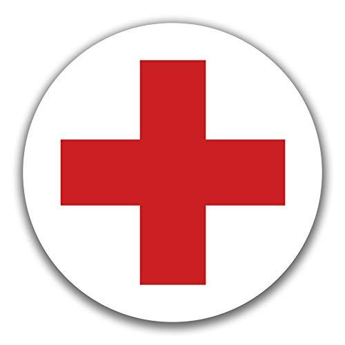 Autocollants en Forme de Croix Rouge 10 cm Kavaro